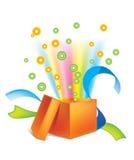 3 prezentów jpg otwarty Zdjęcie Stock