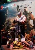 3 przekładni gigantyczna Marcus feniksa statuy wojna Fotografia Royalty Free