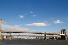 3 puentes en Nueva York Imagen de archivo libre de regalías
