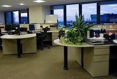 3 puste biura Fotografia Royalty Free