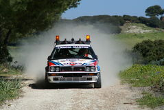 3° Rally del Corallo Stock Images
