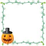 3 ramowy Halloween ilustracja wektor