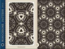3 Reticolo-monocromatici senza giunte royalty illustrazione gratis