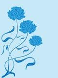 3_Rose_Blue_J Royalty Free Stock Photo