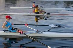3 rowers Στοκ Φωτογραφίες