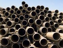 3 rur metalowych Fotografia Stock