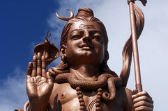 3 s shiva雕象 库存图片