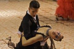 3 sala balowa taniec zdjęcie stock