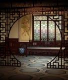 3 sala Oriental royalty ilustracja