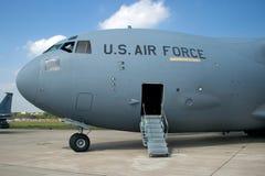 3 samoloty wojskowe Zdjęcia Royalty Free
