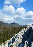 3 sceny Croatia górski velebit wiosny Zdjęcia Royalty Free