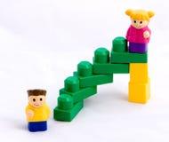 3 schodów sukces Fotografia Stock