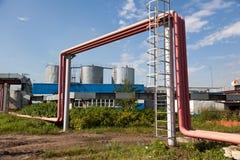 3 serbatoi di combustibile Fotografie Stock