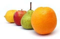 3 serii owoców Fotografia Royalty Free