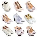 3 set skor för lampa Royaltyfria Bilder