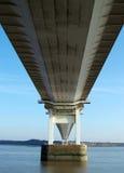 3 severn的桥梁 库存图片