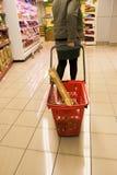 3 shopping supermarket Στοκ εικόνα με δικαίωμα ελεύθερης χρήσης