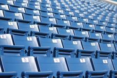 3 siedzeń stadium Zdjęcia Royalty Free