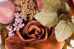 3 silk blommor Arkivfoton