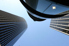 3 skyscrappers Imagem de Stock Royalty Free