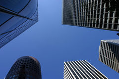 3 skyscrappers Foto de Stock Royalty Free