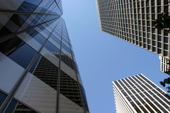 3 skyscrappers Stock Images
