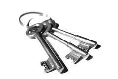 3 sleutels Royalty-vrije Stock Foto