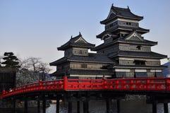 3 slott japan matsumoto Royaltyfria Bilder