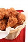 3 smażony kurczak Fotografia Royalty Free