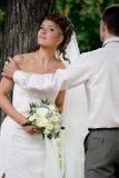3 som att gifta sig bara arkivfoto