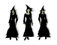 3 sorcières Photographie stock