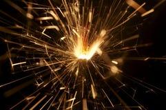 3 sparkler obrazy stock