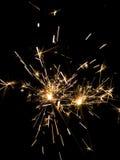 3 sparkler Fotografia Stock