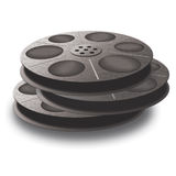 3 spools with tape. Stock Image