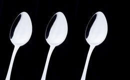 3 spoons Stock Images