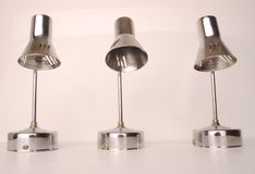 3 stage lights Stock Image