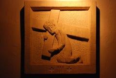 3. Stationen des Kreuzes Lizenzfreie Stockbilder