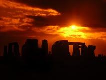 3 stonehenge 库存照片