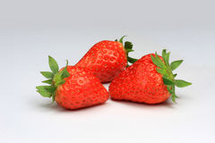 3 Strawberry Royalty Free Stock Image