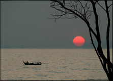 3 styl japoński słońca obraz royalty free