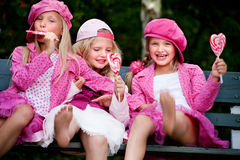 3 szczęśliwej siostry Zdjęcia Royalty Free