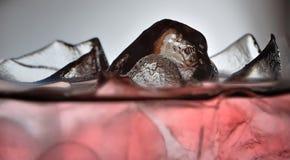 3 szczegółu lód obrazy royalty free