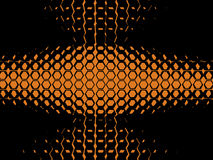 3 tło abstrakcjonistyczna pomarańcze Obrazy Royalty Free