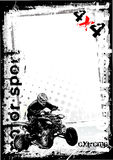 3 tło brudny motorowy sport ilustracji