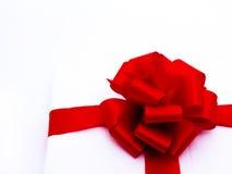 3 tło rodzajowy prezenta biel Fotografia Royalty Free