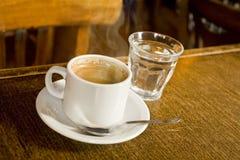 3 tazze di caffè Fotografia Stock