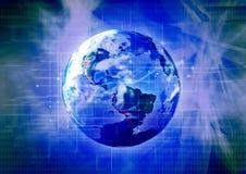3 technologycal的行星 图库摄影