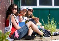 3 teens Στοκ Εικόνες