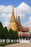 3 templos do palácio grande em Banguecoque Imagem de Stock