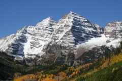 3 tops. 3 white mountain tops in colorado Royalty Free Stock Photography
